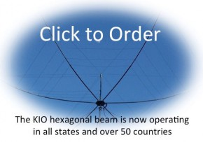 Hex Beam Antenna by K4KI0: #1 Plug & Play HexBeam (USA Made)